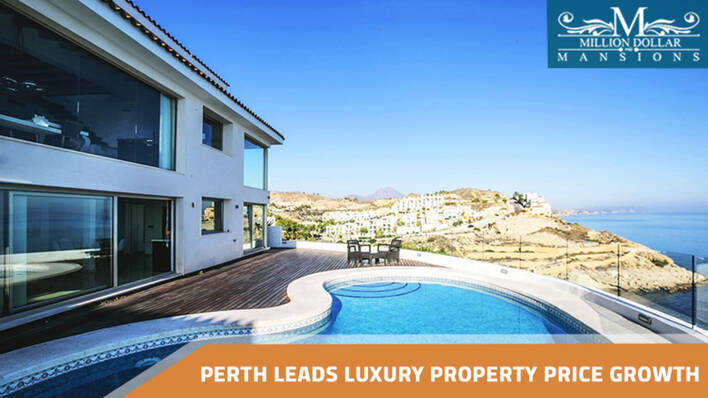 Perth Leads Luxury Property Price Growth